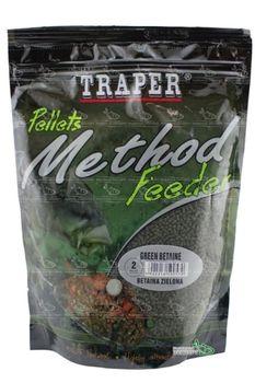 Traper Method Feeder Ready Green Betaine 0.75 кг