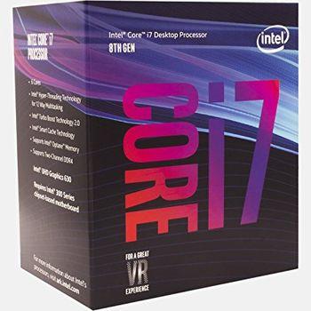 Intel® Core™ i7 8700, S1151, 3.2-4.6GHz (6C/12T), 12MB Cache, Intel® UHD Graphics 630, 14nm 65W, tray