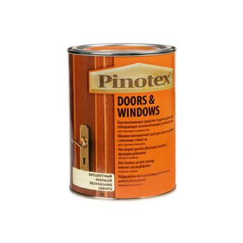 Pinotex Пропитка Pinotex Doors&Windows Тик 1л