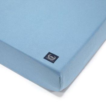 купить Простынь La Millou Organic Jersey Collection  – Denim 60×120 см в Кишинёве