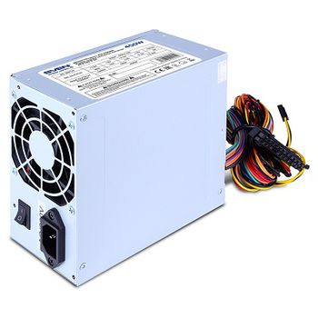 PSU SVEN PU-400AN, 400W, ATX 2.31, 80mm fan, 20+4 Pin, 2x SATA, Grey
