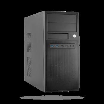 купить Case ATX Chieftec CG-04B-OP, w/o PSU, 2xUSB3.0, Screwless installation, Black в Кишинёве
