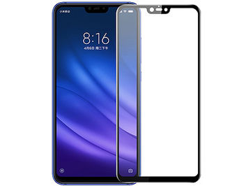 500019 Screen Geeks sticla protectie Xiaomi Mi 8 Lite Full Cover Glass Pro All Glue 4D Black (защитное стекло для смартфонов Xiaomi, в асортименте)