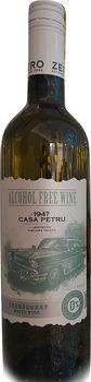 Вино сладкое белое био Casa Petru Chardonnay Alcohol Free, 0.75л