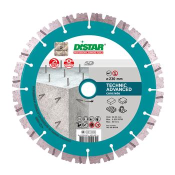 купить Диск алмазный отрезной  Distar 1A1RSS/C3 232x2.6/1.8x12x22.23-16-HIT Technic Advanced в Кишинёве