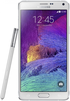 Samsung N910F Galaxy Note 4, White