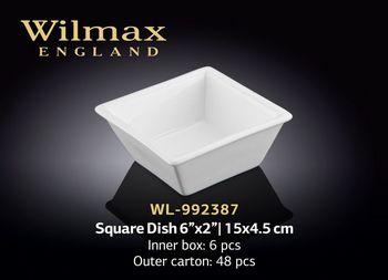 Салатница WILMAX WL-992387 (для закусок 15х4,5 см)