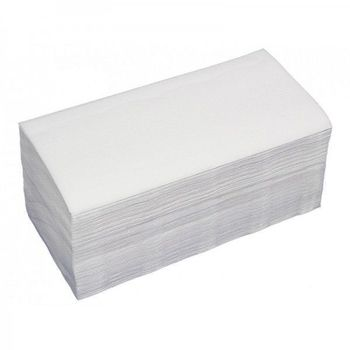 Бумажные полотенца V укл. белые 2 слоя 150 листов