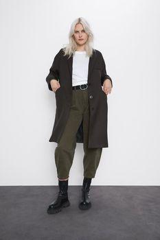 Куртка ZARA Темно зеленый 8443/636/507