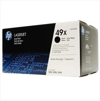 HP LaserJet 1320 Dual pack  Print Cartridge , black