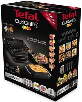 cumpără Grill-barbeque electric Tefal GC7148 OptiGrill+ în Chișinău