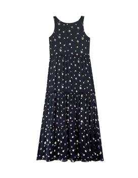 Платье Stradivarius Черный с принтом 6265/591/001