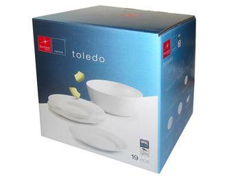 Набор тарелок Bormioli Toledo 19ед