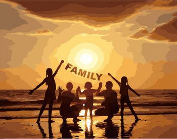 Картина по номерам 40x50 FAMILY VA2658