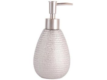 Диспенсер для жидкого мыла OMAN серебрянный