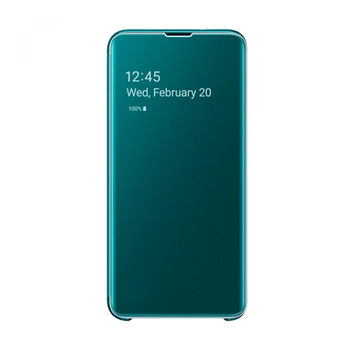 купить Чехол Samsung Galaxy S10 (EF-ZG973) Clear View Cover Beyound Green в Кишинёве