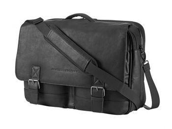 "HP NB bag 14"" - Executive Leather Messenger"