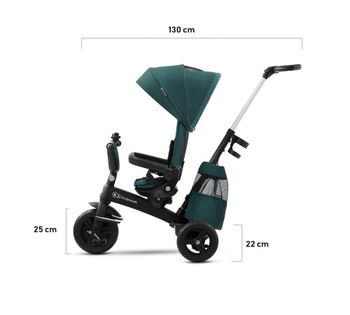 Трицикл Kinderkraft Easytwist Green