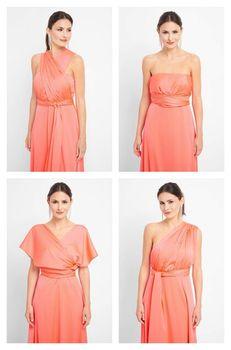 Платье ORSAY Коралловый