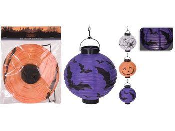 """Фонарь на солнечной батар """"Китайский фонарик"""" Halloween 20cm"""