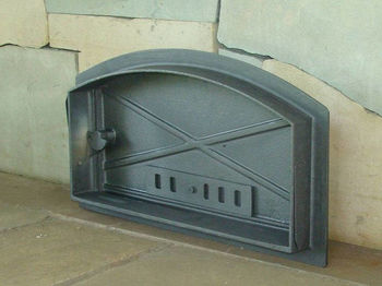 Дверца чугунная глухая левая DCH1
