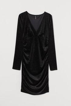 Платье H&M Чёрный