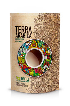Terra Arabica Product of Colombia 75gr