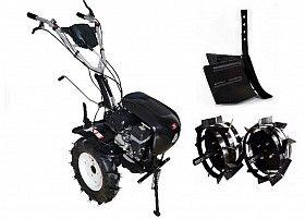 Набор мотоблок TECHNOWORKER HB 704.2.1.1 RS PRO + плуг регулируемый + металлические колеса 4*8