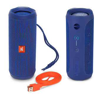 купить JBL Bluetooth Speaker FLIP 4, Blue в Кишинёве