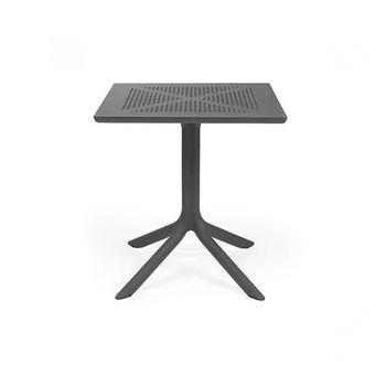 Стол Nardi CLIPX 70 ANTRACITE 40085.02.000 (Стол для сада террасы балкон)