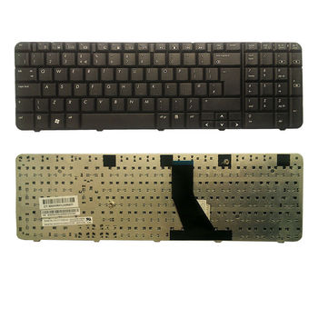 Keyboard HP Compaq G70 CQ70 ENG.  Black