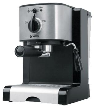 VITEK VT-1513, черный-серебристый