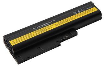 Battery Lenovo ThinkPad T60 T61 R60 R61 Z60 Z61 SL300 SL400 SL500 T500 W500 R500 42T4513 42T4651 42T5232 42T5233 92P1137 92P1139 92P1141 10.8V 4800mAh Black OEM
