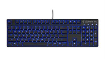STEELSERIES Apex M500 / Mechanical Gaming Keyboard (Cherry MX Red Mechanical Gaming Switches), Blue LED Illumination with 3 settings, Full programmable keys, Anti-Ghosting 24 keys, Cable lenght 2m, USB, US Layout
