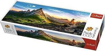 """Puzzle """"1000"""" - """"Panorama -Passo di Giau, Dolomiți"""", cod 40555"""