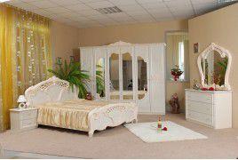"""Спальня """" Олимпия """" с 6 дверями, бежевый"""