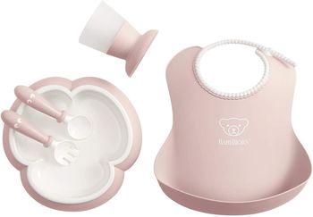 купить Набор для кормления BabyBjorn Powder Pink в Кишинёве