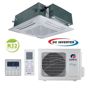 Кассетный кондиционер on/off Gree U-MATCH GUD140T/A-T+GUD140W/HhA-X 48000 BTU