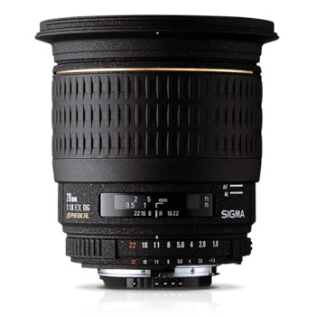 Объектив Sigma AF 20mm f/1.8 EX DG Aspherical RF for Canon