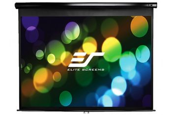 "Elite Screens 135""(4:3) 205,7x274,3cm Manual Pull Down Screen, Black"