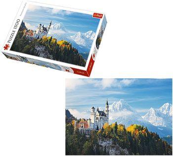 "Пазлы ""1500"" - ""Bawarian Alps"", код 40545"