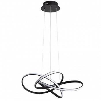 купить A7040SP-4BK Люстра LED 60W чёрн в Кишинёве