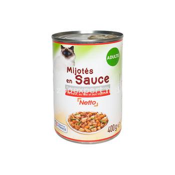 Netto рагу в соусе говядина, печень и овощи 400 gr