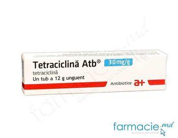 купить Тетрациклин мазь  3% 12g (Antibiotice) в Кишинёве