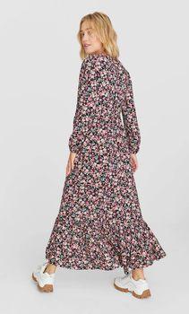 Платье Stradivarius Цветочный принт 6358/600/001