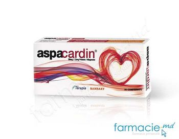купить Aspacardin® 39 mg/12 mg comp.N10x3 в Кишинёве