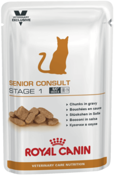 купить Royal Canin SENIOR CONSULT STAGE 1 WET 100 gr в Кишинёве