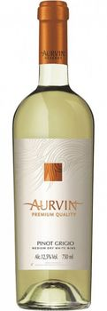 cumpără Vin Reserve Pinot Grigio Aurvin, sec alb,  0.75 L în Chișinău
