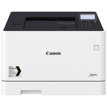 Printer Color Canon i-SENSYS LBP663Cdw, Duplex,Net, WiFi, A4,27ppm,1GB, 1200x1200dpi, 250+50 sheet tray, LCD CTScreen,UFRII,PCL5c*,PCL6,Adobe® PostScript, Max.50k pages per month,Cart 055HBk & 055Bk (6300/2300ppm) & 055HC/M/Y & 055C/M/Y(5900/2100ppm)