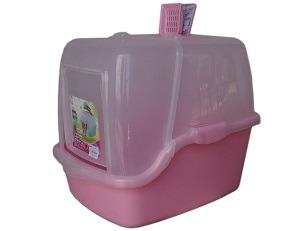 cumpără Закрытый туалет для кошек с фильтром и лопаткой 50см*40см*45см în Chișinău